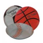 Football , Soccer , Baseball and Basketball Snack Bowl